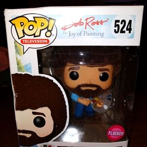 Bob Ross flocked Funko POP!